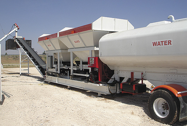 Portable Cement Plant : American mixers and plants n portable concrete