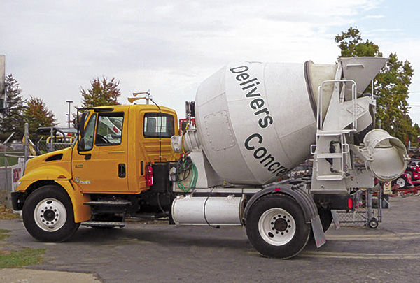 American Mixers And Plants Truck Mounted Concrete Mixers
